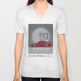 1995 993 Carrera 2 RS 4.0 Steven Troy Unisex V-Neck