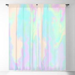 Iridescent Paint Blackout Curtain
