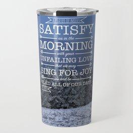 Winter Satisfaction Travel Mug