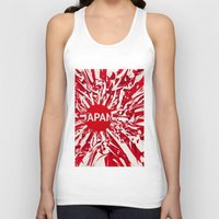 japan Tank Tops featuring Japan by Danny Ivan