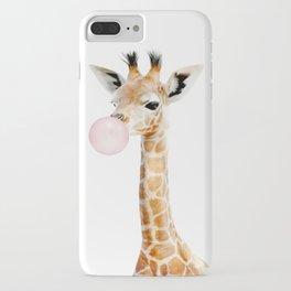 Bubble Gum Baby Giraffe iPhone Case