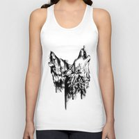 howl Tank Tops featuring Howl  by Ink Odyssey