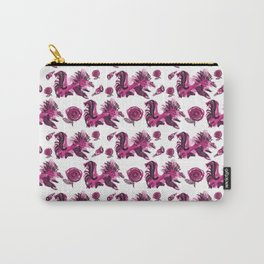 Roosters and Roses SC Carry-All Pouch