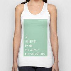 BDFD - Fashion designer Unisex Tank Top