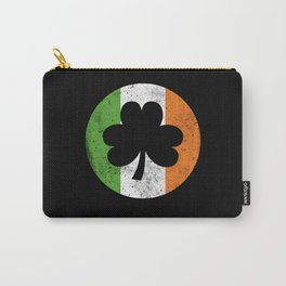 Shamrock Irish Flag Of St. Patrick's Carry-All Pouch