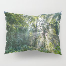 Sun Rays in a Forest Pillow Sham
