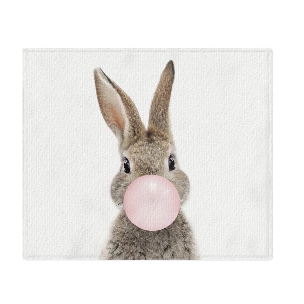 Bubble_Gum_Bunny_Throw_Blanket_by_amypetersonartstudio