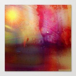 Disintegration (Falling Apart) Canvas Print