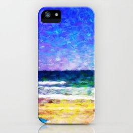 Mission Beach - Help Fund Education for Impoverished Kids in Malawi, Africa @MoreThanAid iPhone Case