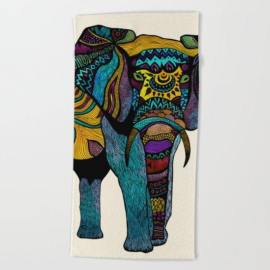 Elephant of Namibia Beach Towel