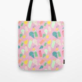 ice cream pink Tote Bag