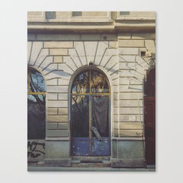 Budapest Building Front Canvas Print
