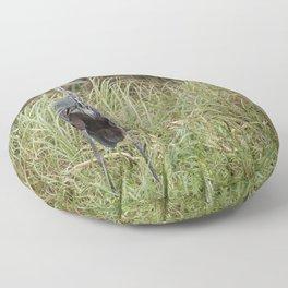 Goliath Heron, No. 2 Floor Pillow