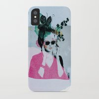 sunglasses iPhone & iPod Cases featuring Sunglasses by Lorene R illustration