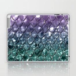 Mermaid Scales on Mermaid Girls Glitter #8 #shiny #decor #art #society6 Laptop & iPad Skin