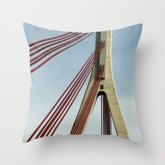 Bridge architecture Throw Pillow