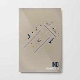 IND Metal Print