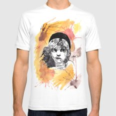 Les Miserables MEDIUM White Mens Fitted Tee