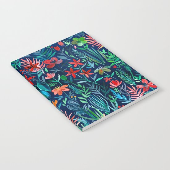 Tropical Ink - a watercolor garden Notebook