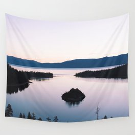 Purple Emerald Bay Wall Tapestry