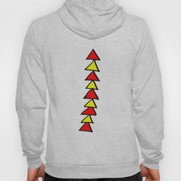 Funny triangles-abstraction,abstract,geometric,geometrical,pattern,triangle,order Hoody