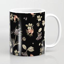 rosehip, chokeberries and teasel III Coffee Mug