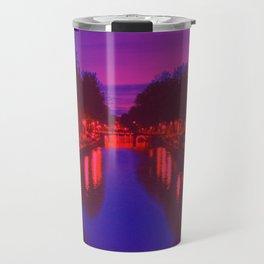 Psychedelic Amsterdam Travel Mug