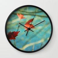 the mortal instruments Wall Clocks featuring Mortal by KunstFabrik_StaticMovement Manu Jobst