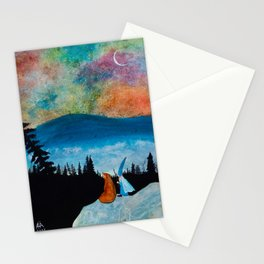 The Bear and the Wizard Stationery Cards