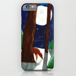 Midnight in the Forest iPhone Case