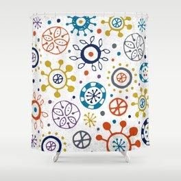 Doodle Organic Shower Curtain