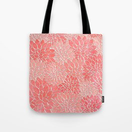 Floral Abstract 36 Tote Bag