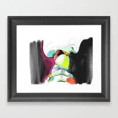 erotic art Framed Art Print