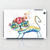 kitty iPad Cases featuring kitty by Katja Main