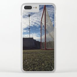 She shoots she scores Clear iPhone Case