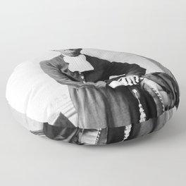 Harriet Tubman Portrait - Circa 1873 Floor Pillow