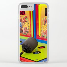 Whac-A-Mole Clear iPhone Case