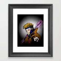 [Rémy LeBeau] ~ 'THE CAJUN MASTER' Framed Art Print