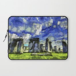 Stonehenge Vincent Van Gogh Laptop Sleeve
