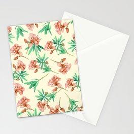 Tropical Oleander Stationery Cards
