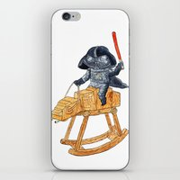 darth iPhone & iPod Skins featuring Darth Vader by gunberk