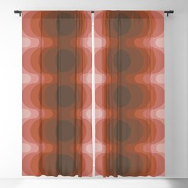 Echoes - Dusty Rose Blackout Curtain
