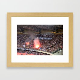 WE WANT TO WIN Framed Art Print