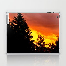 Sunset Pines Laptop & iPad Skin