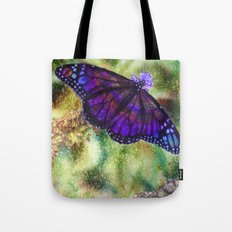 Butterfly in the Rain Tote Bag