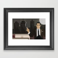 Where The Truth Lies... Framed Art Print