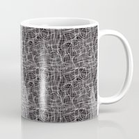 grid Mugs featuring Grid by ChantalNathalie