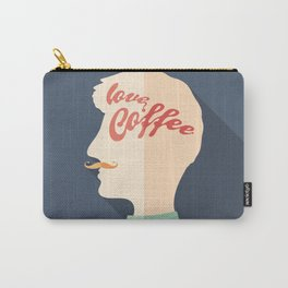 Love Coffee Head Carry-All Pouch