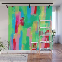 Abstract Painting Modern Acrylic Art - Just Have Fun no.0 Wall Mural