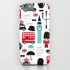 London icons illustration pattern print iPhone 6 Slim Case